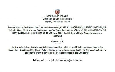Convocatoria internacional del Gobierno de Croacia