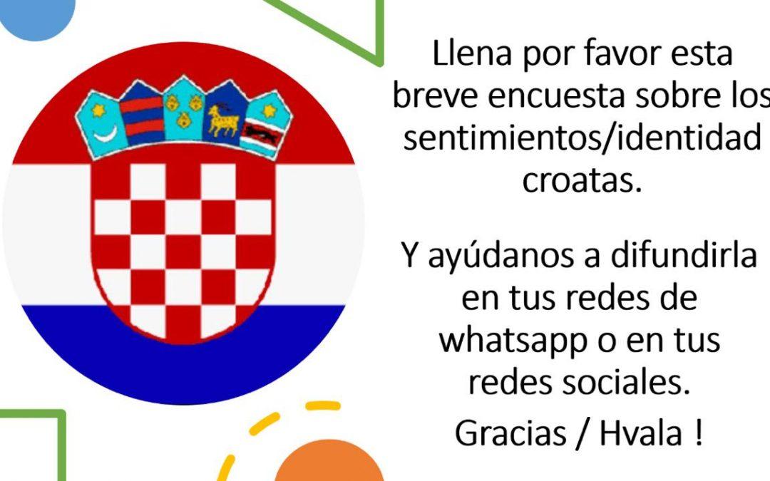 Nos interesa que seas parte de este estudio en el marco del Proyecto para fortalecer la identidad croata